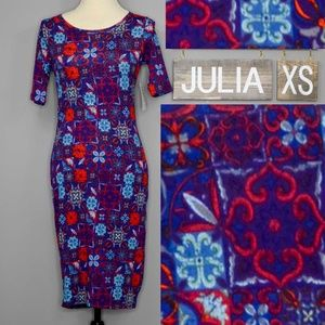 Lularoe Julia Dress NWT XS